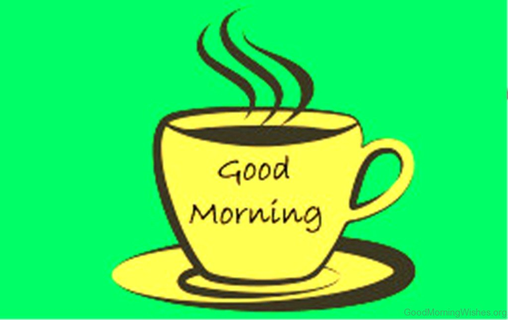 clip transparent stock Good morning coffee clipart.  clip art wishes