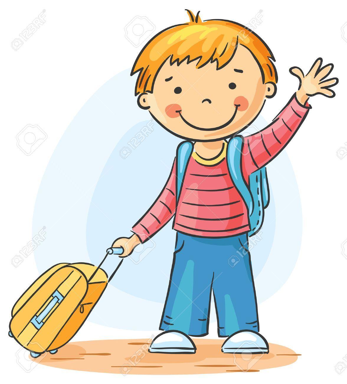 clip free Goodbye clipart. Kids waving portal