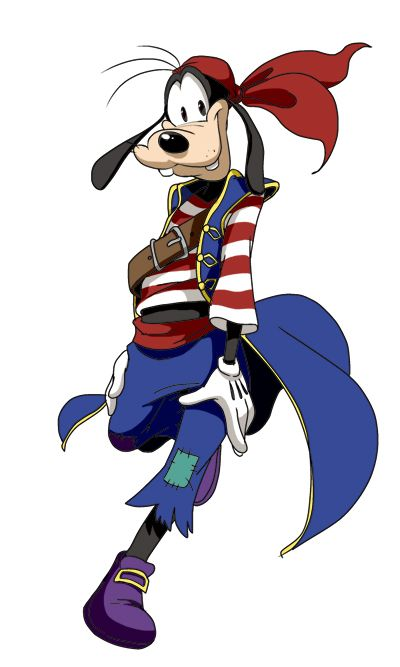 clipart library download Goofy clipart pirate. By pixiv net disney