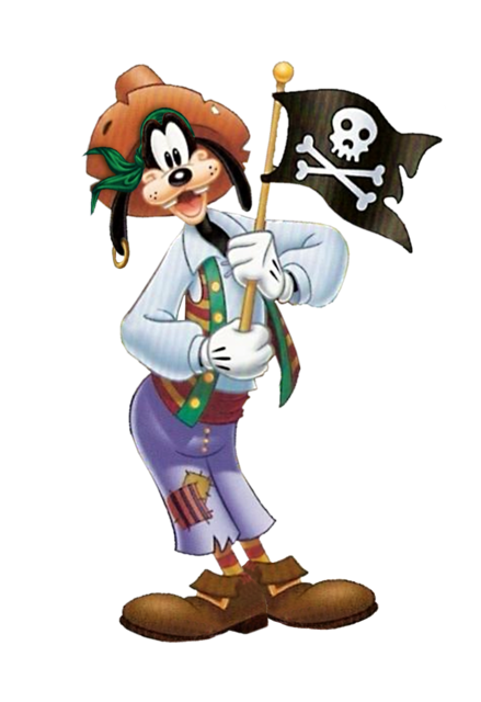 graphic download Max goof mickey mouse. Goofy clipart pirate