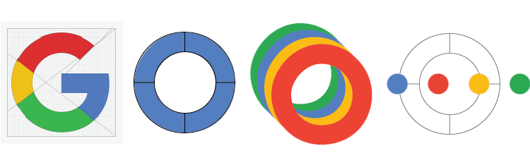 freeuse Google svg. Recreating the logo animation.