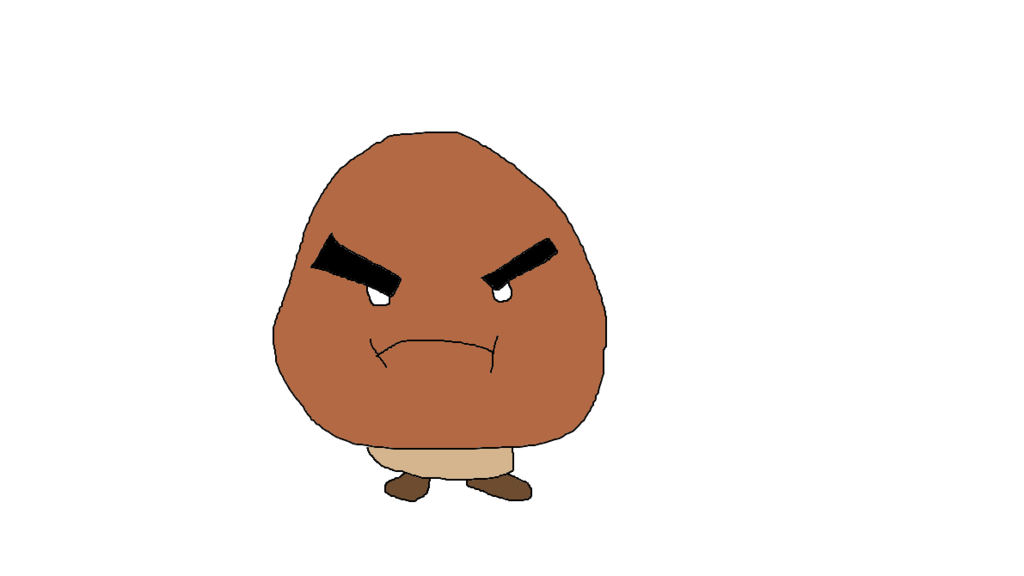 graphic library library Goomba drawing. Of a by jakobthebadass