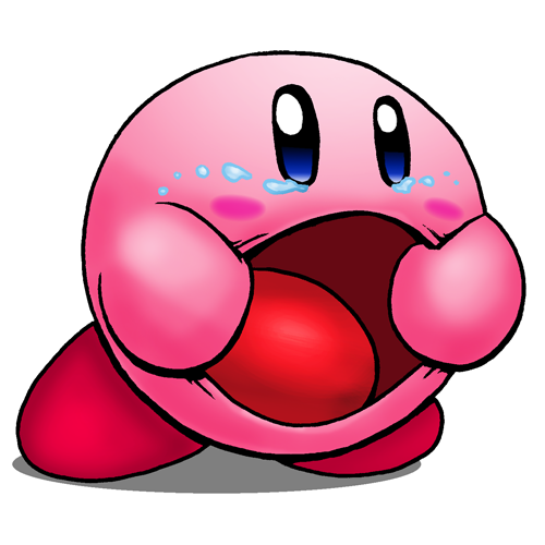 picture stock Someone wanted me to draw Kirby Goatse