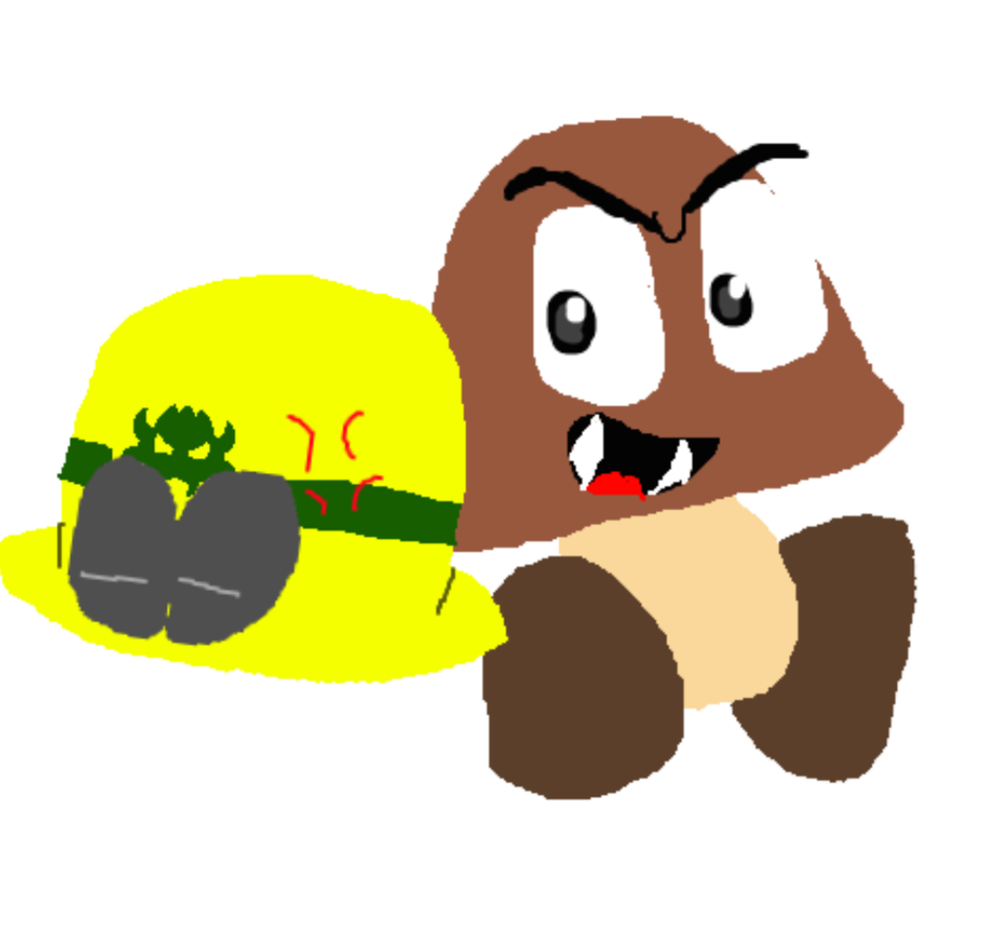 png freeuse goomba drawing plant #113260629