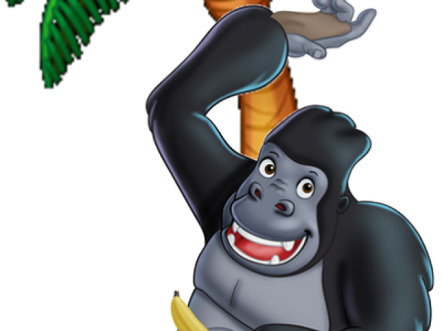 jpg download Cartoon x carwad net. Gorilla clipart