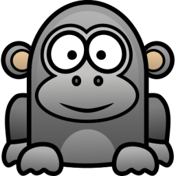png freeuse download Pix for cartoon baby. Gorilla clipart drawing