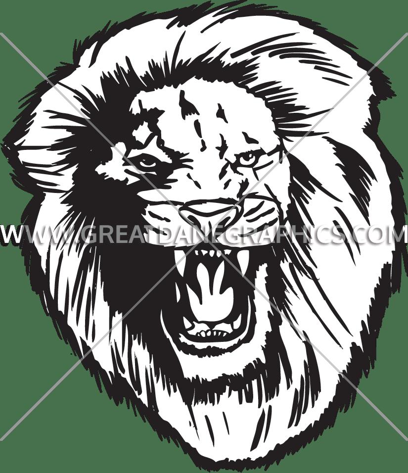 image freeuse Gorilla clipart roaring. Lion production ready artwork
