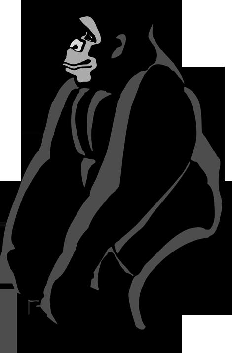 free stock Gorilla Clip Art Free