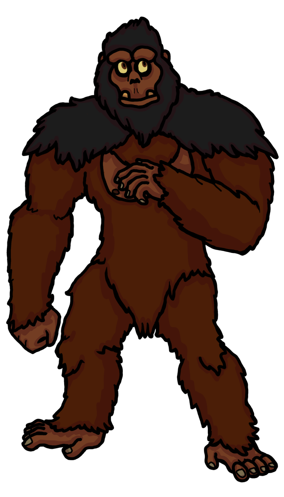 graphic transparent stock Ape clipart gorilla family. Mountain at getdrawings com