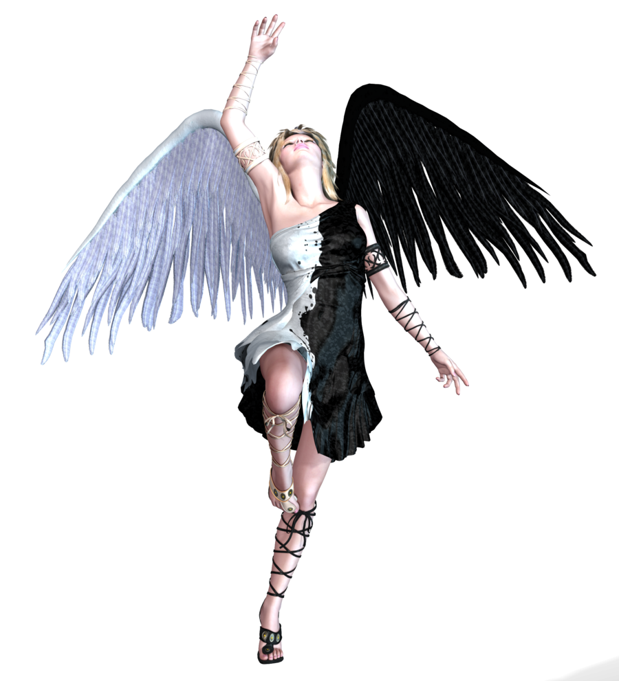 vector transparent library Vector angel warrior. Gothic png transparent pictures