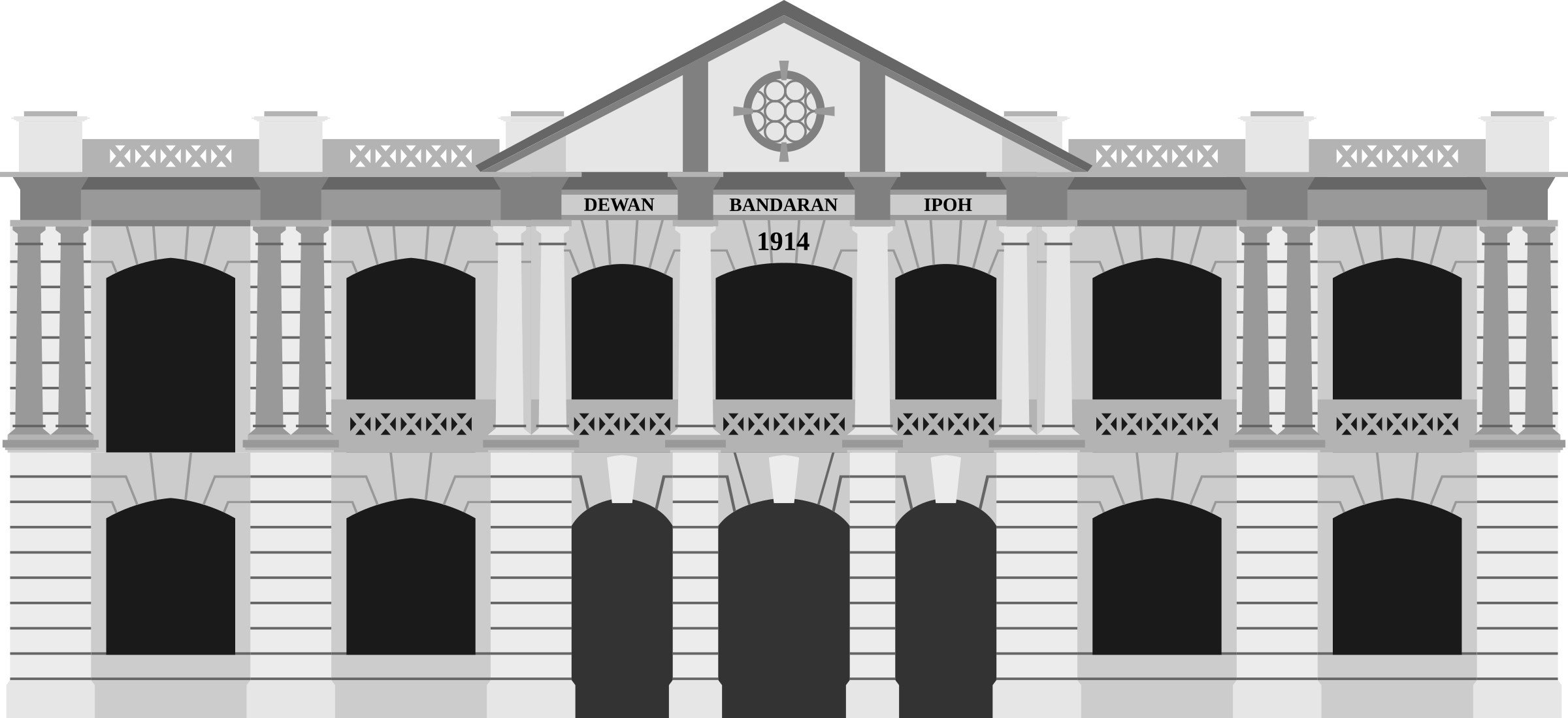 vector freeuse library Municipal hall png transparent. Government clipart municipality.