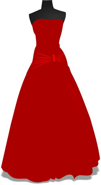 svg free library Gown clipart. Free cliparts download clip