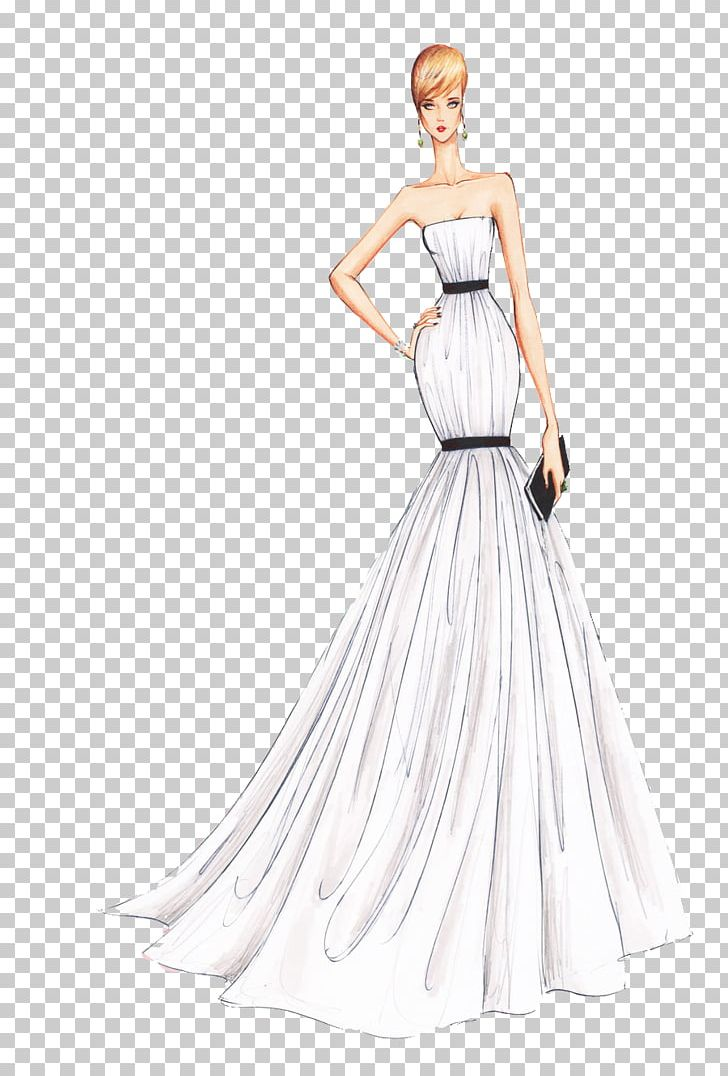 picture freeuse download Gown clipart beautiful dress. Fashion