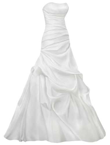 graphic free download Satin wedding png clip. Gown clipart beautiful dress