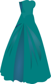image library library Green dress princess clip. Gown clipart dresss