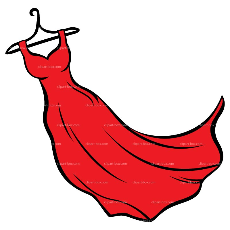 graphic Library free images . Gown clipart red dress.