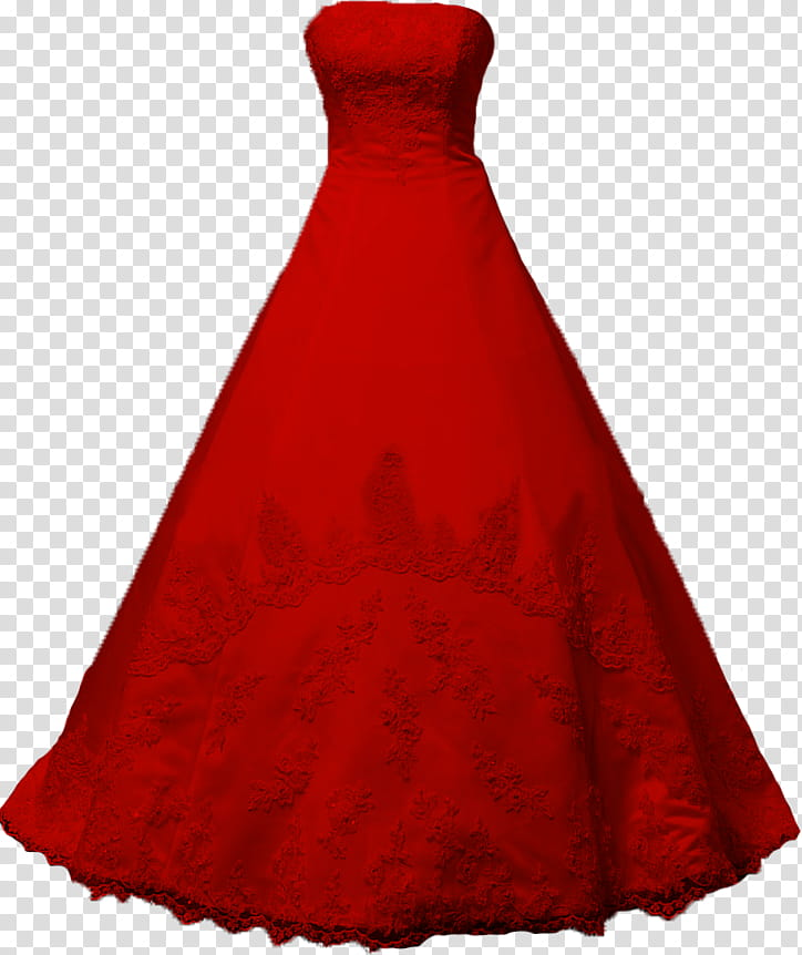 svg freeuse Gown clipart red dress. Strapless long transparent background.