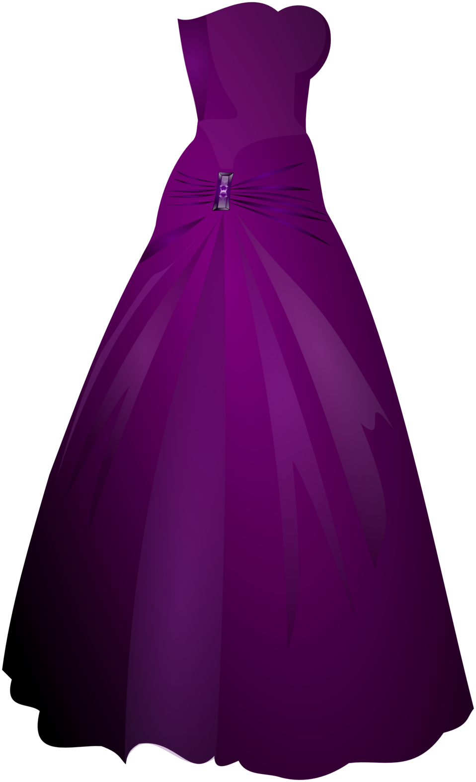 jpg transparent library Public domain clip art. Gown clipart violet dress