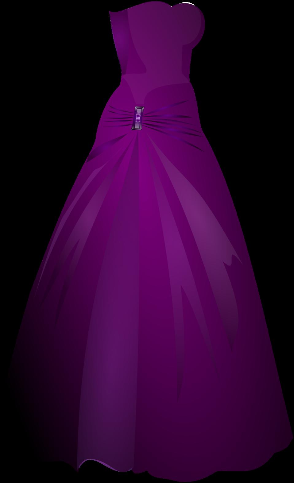 jpg transparent library Public domain clip art. Gown clipart violet dress.