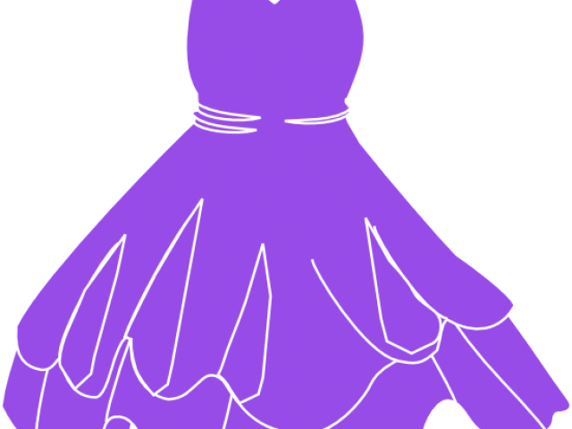 png royalty free stock Gown clipart violet dress. Free on dumielauxepices net.