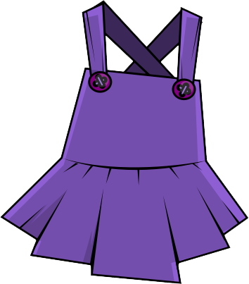 banner Gown clipart violet dress. Free purple clip art.