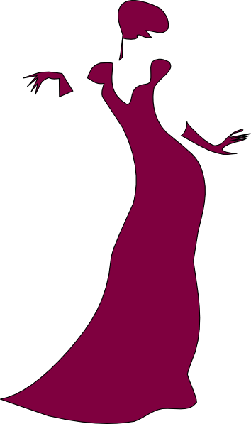 clip transparent download Gown clipart violet dress. Maroon clip art at