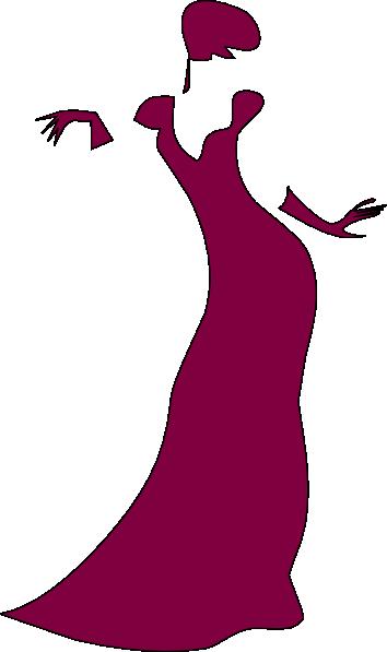clip transparent download Gown clipart violet dress. Maroon clip art at.