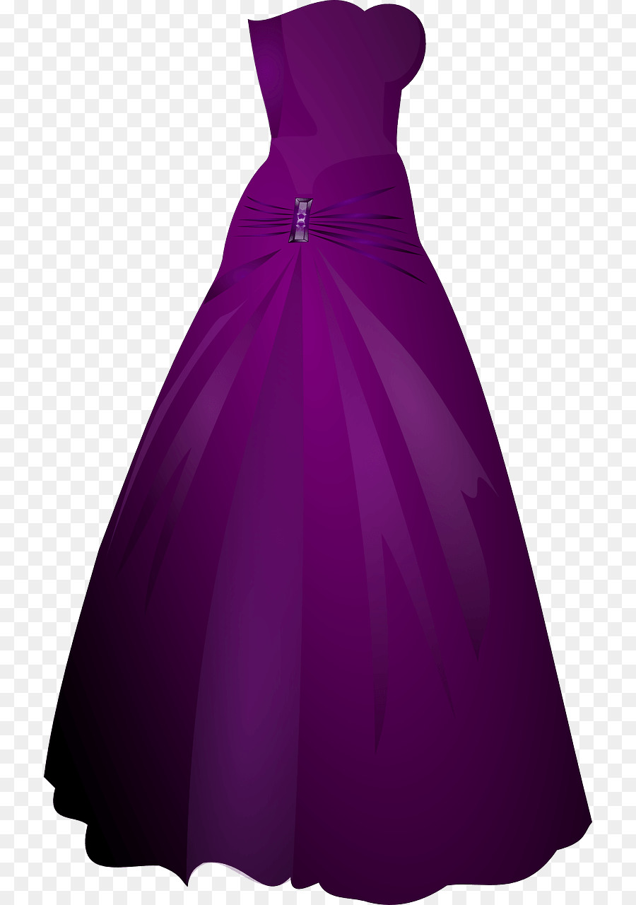 clip art black and white download Wedding cartoon prom purple. Gown clipart violet dress