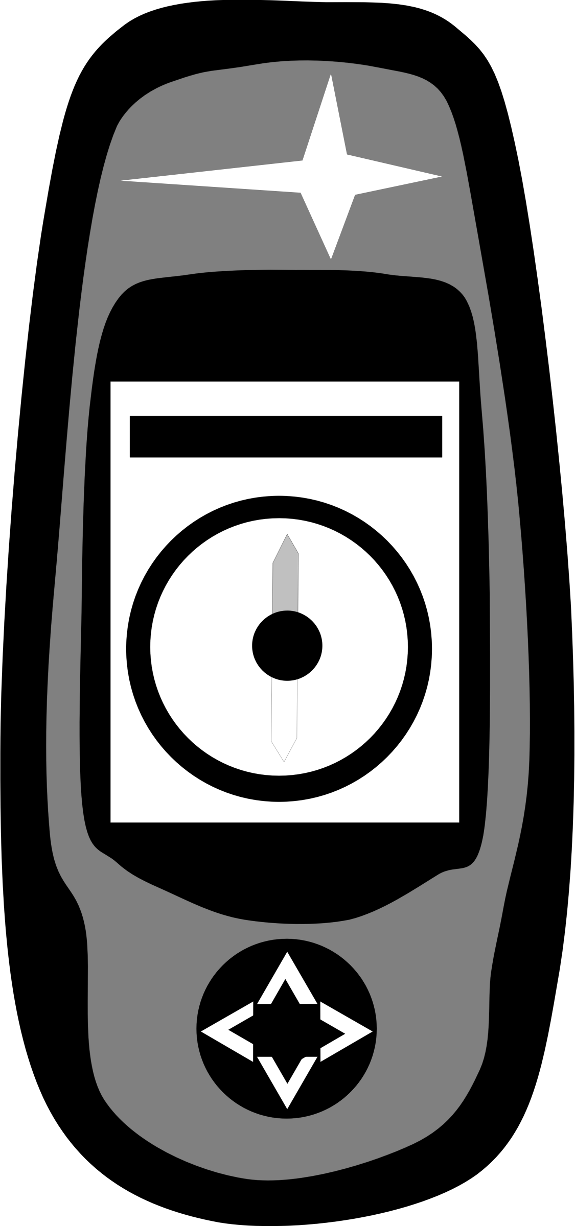 vector transparent stock Gps clipart. Magelan handheld big image.