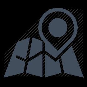 clip art transparent Tracked leaflet distribution flyer. Gps clipart gps tracker