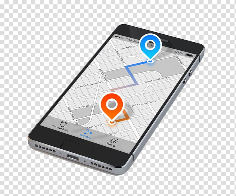 vector Navigation device smartphone phone. Gps clipart mobile