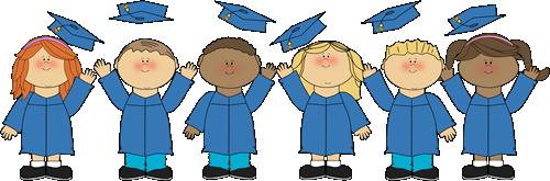 jpg free library Clip art kids kindergarten. Graduation clipart.