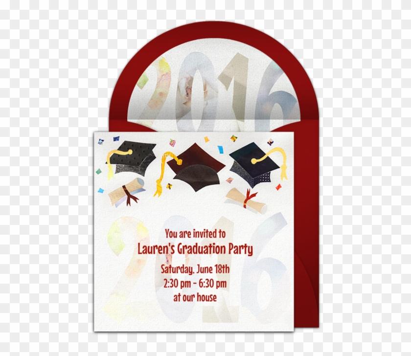 clip download Grad clipart graduation invitation. Hd png download