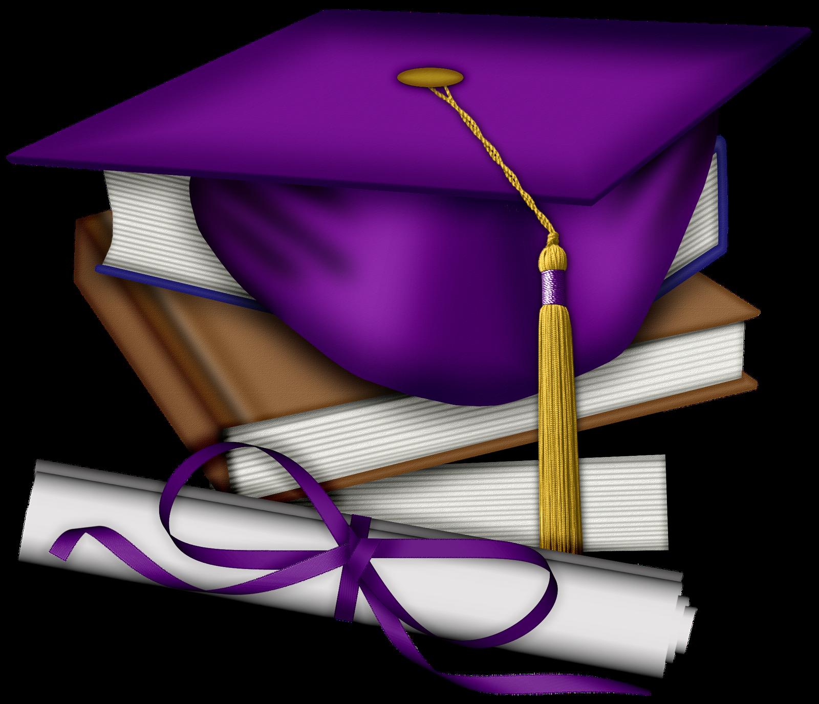 png transparent download Grad clipart preschool. Animated purple graduation cap