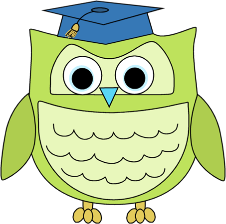 banner freeuse Grad clipart preschool. Owl graduation panda free