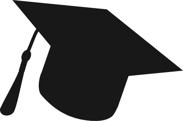 graphic royalty free download Graduation at getdrawings com. Grad clipart silhouette
