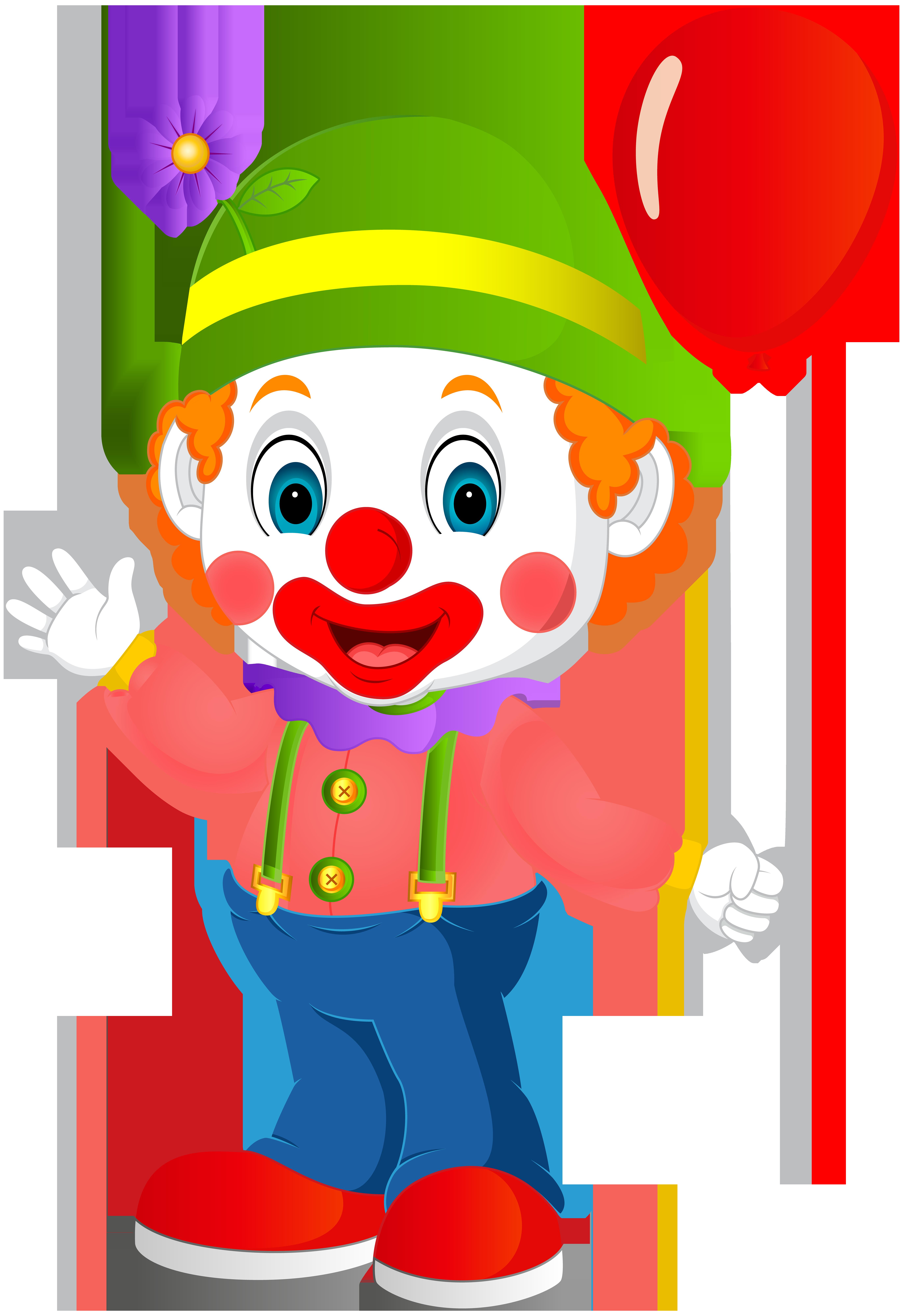 image Cute clown transparent png. Grades clipart intellegent