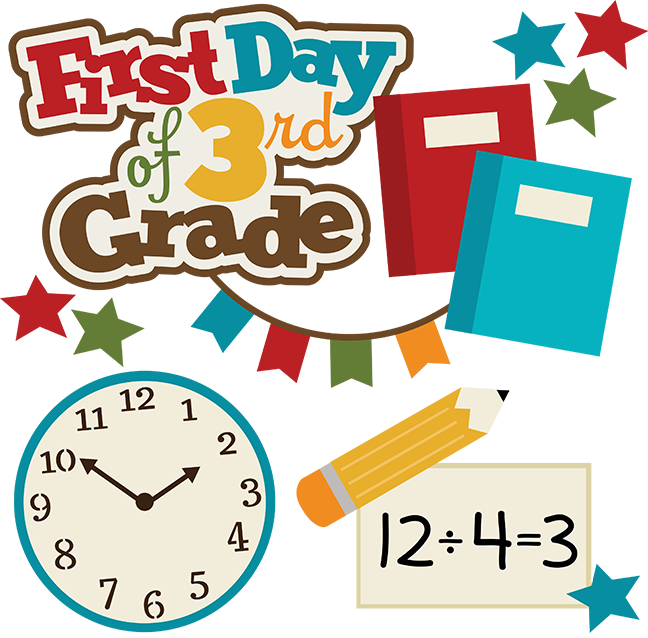 vector library download Grades clipart school grade. First day of rd