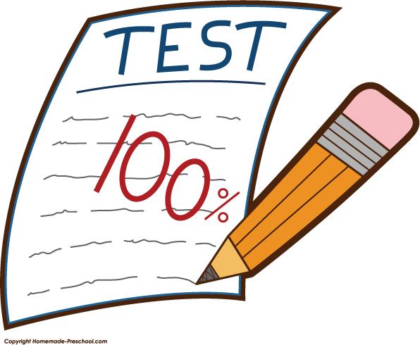 graphic free School testing clipart. Exam grades cliparts zone