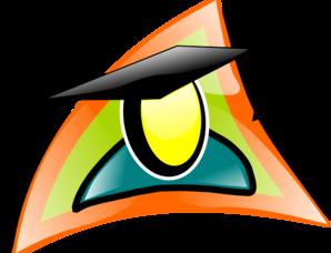 vector transparent Graduate clipart symbol. Clip art at clker
