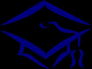 png free stock Graduation cap navy clip. Graduate clipart symbol