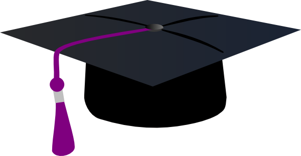 svg free Graduation Clipart purple