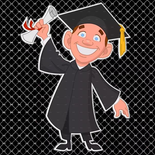 picture transparent download Graduate clipart uni student. University cliparts free download