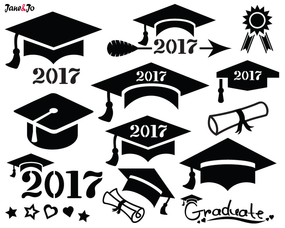 vector free download Graduation cap 2017 clipart. Station