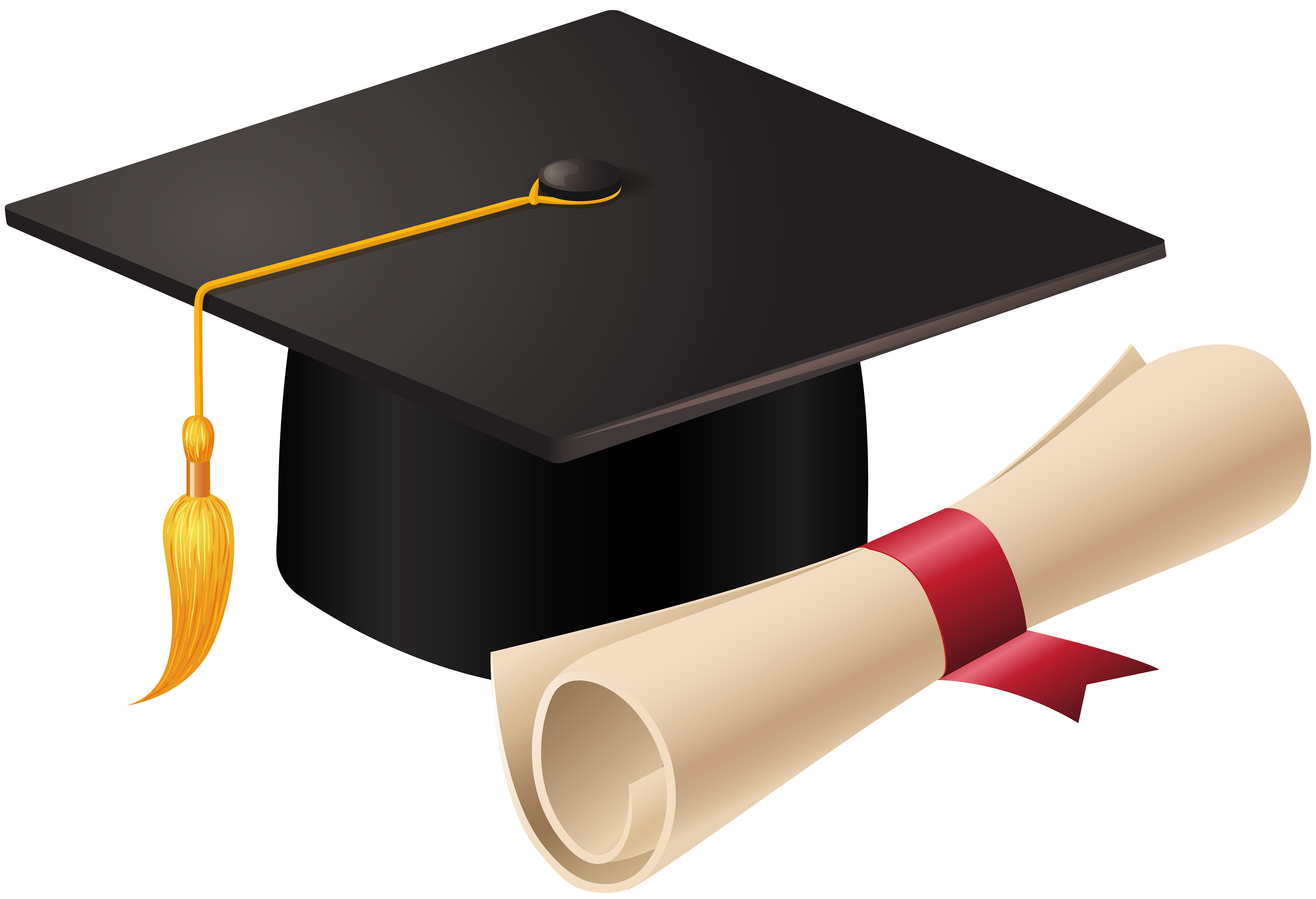 svg royalty free library And diploma png clip. Vector books graduation cap