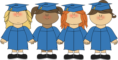 graphic transparent download Graduation clipart. Clip art kids kindergarten