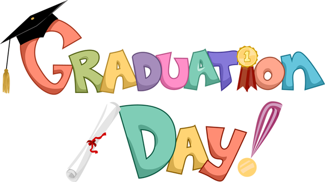 clipart black and white Preschool stratford program. Graduation clipart