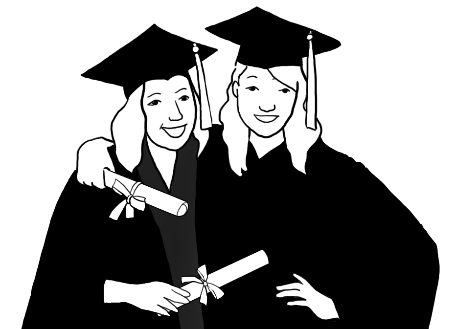 jpg free stock Free graphics graduationclipartfriendsgraduating . Graduation clipart.