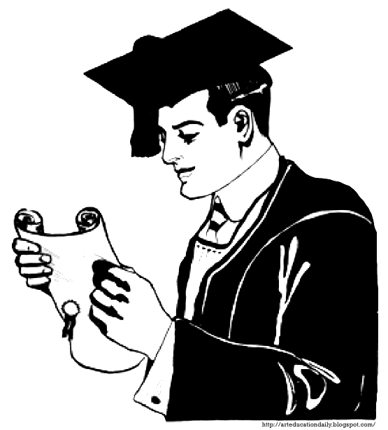 graphic download Graduation Gown Drawing at GetDrawings