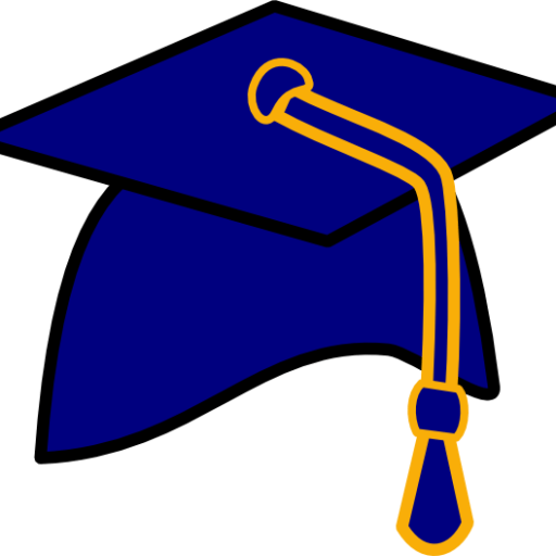 clip black and white Graduation clipart graduation hat. Cropped free clip art